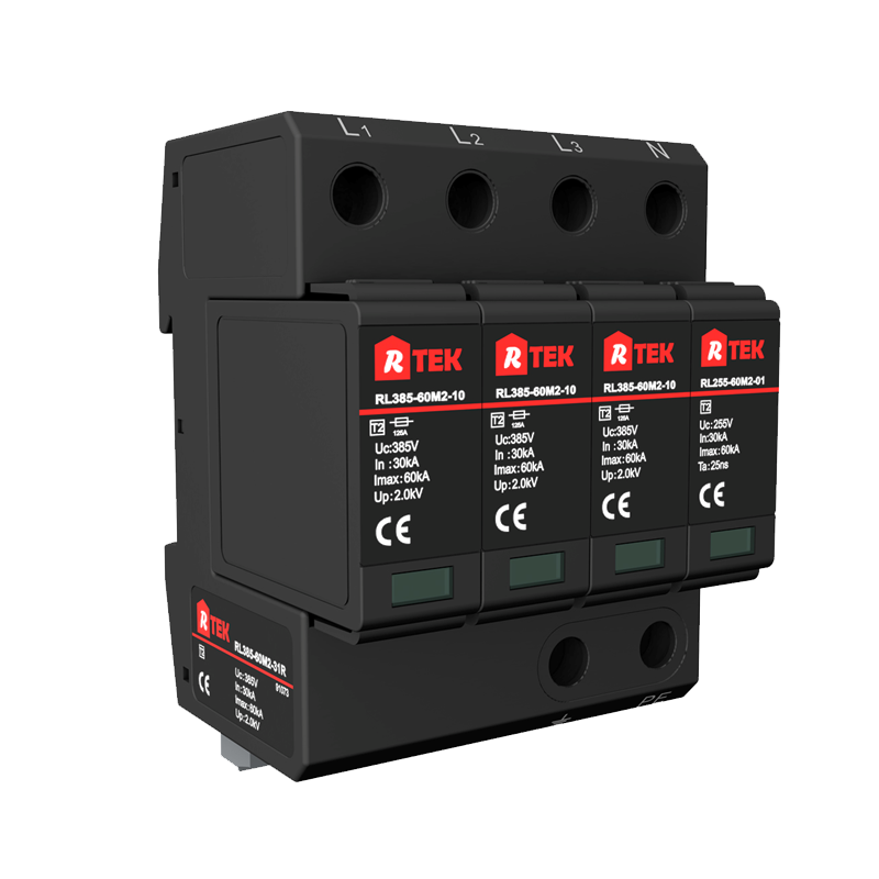 RL320 (385 )-60M2-31R Type 2 /Class Ⅱ SPD(surge protective devices) with anti-vibration pluggable module