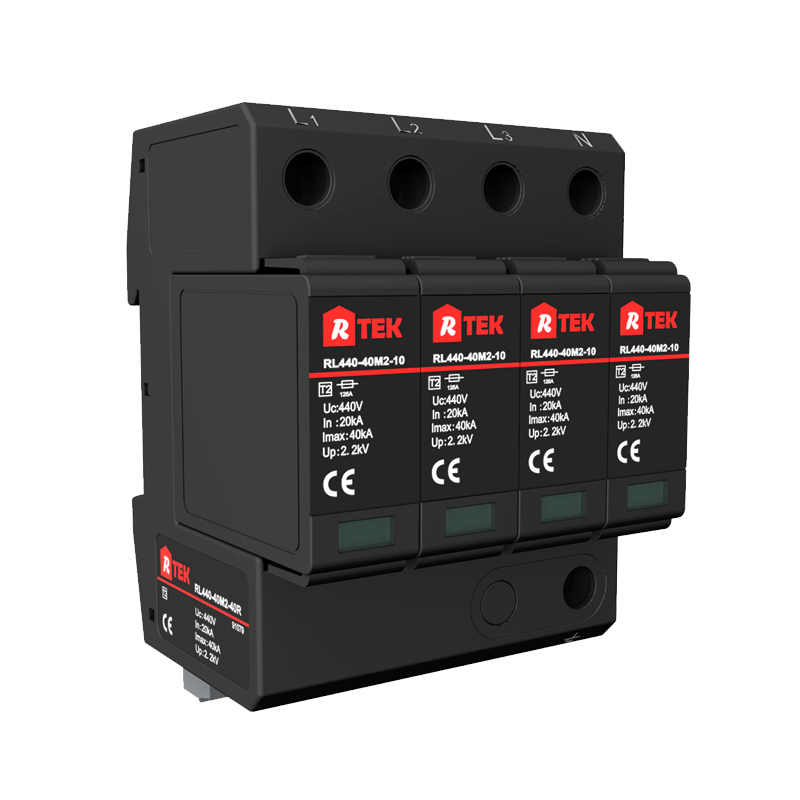 RL275(385 440)-40M2-40R Type 2 /Class Ⅱ SPD(surge protective devices) with anti-vibration pluggable module