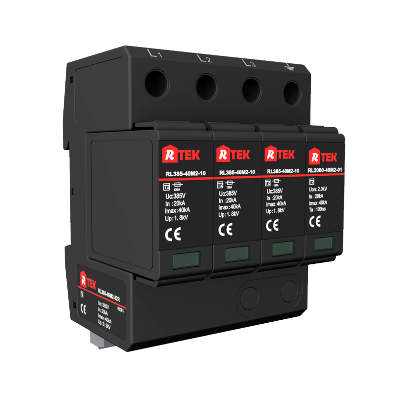 RL385(760)-40(25)M2-32R Type 2 /Class ⅡSPD(surge protective devices) with anti-vibration pluggable module