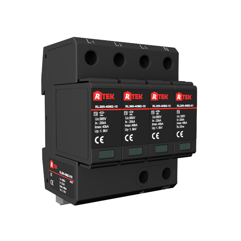 RL150(275 320 385 440)-40M2-31R Type 2 /Class Ⅱ SPD with anti-vibration pluggable module