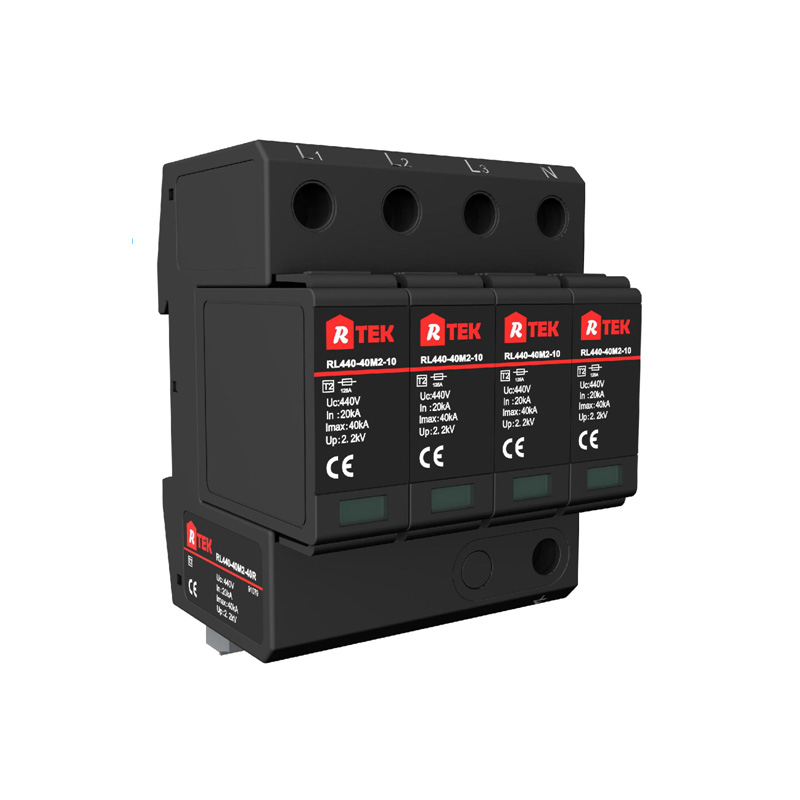 RL150(275 385 440)-40M2-40R Type 2 /Class Ⅱ SPD with anti-vibration pluggable module