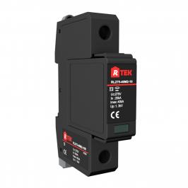 RL255-40M2-01R Type 2/Class Ⅱmulti-purpose single-pole SPD(surge protective devices) with anti-vibration pluggable module