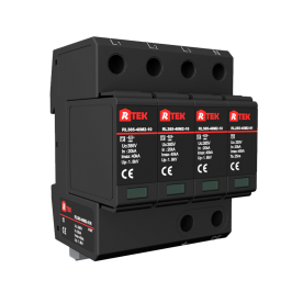 RL275(320 385 440)-40M2-31R Type 2 /Class Ⅱ SPD(Surge protective device) with anti-vibration pluggable module