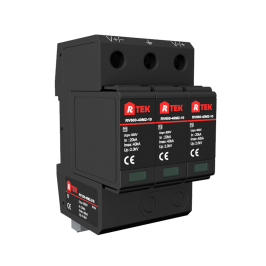 RV1500-40M2-21R Type 2 /Class Ⅱ SPD(Surge protective device) with anti-vibration pluggable module