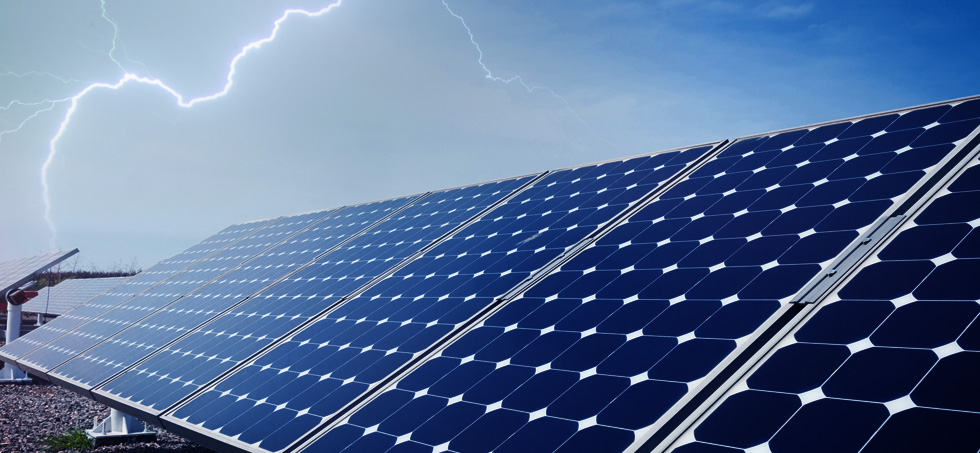 RTEK - provides lightning protection solutions and  surge protection products for photovoltaic power