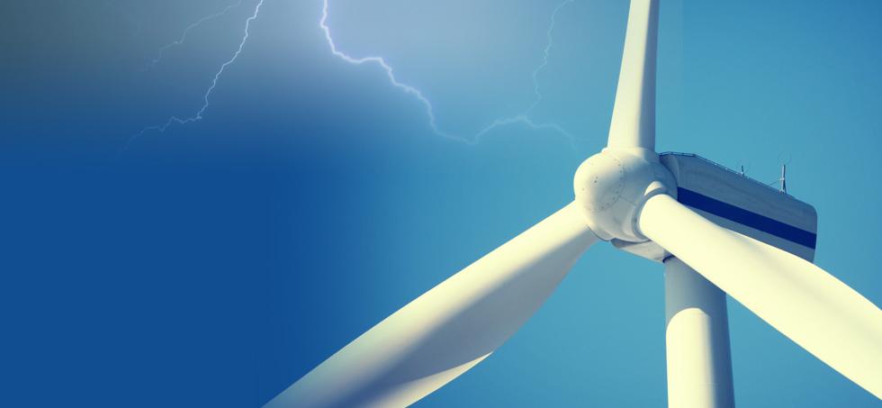 RTEK-provides lightning protection solutions and  lightning protection products for wind power plant