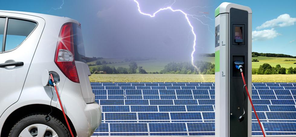 RTEK- provides lightning protection solutions and lightning  protection products for charging piles